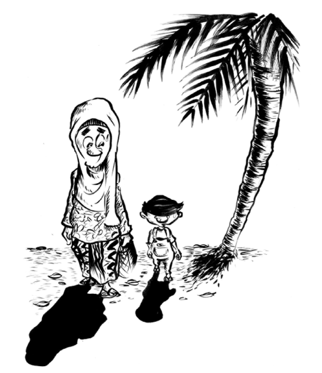 "Image from Images (c) Azmi Hussin from ""The Little Mamak"" courtesy of Clarity Publishing"