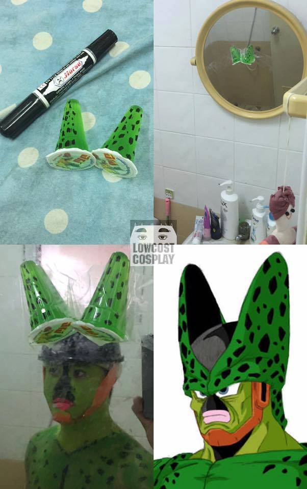 Image from Low Cost Cosplay