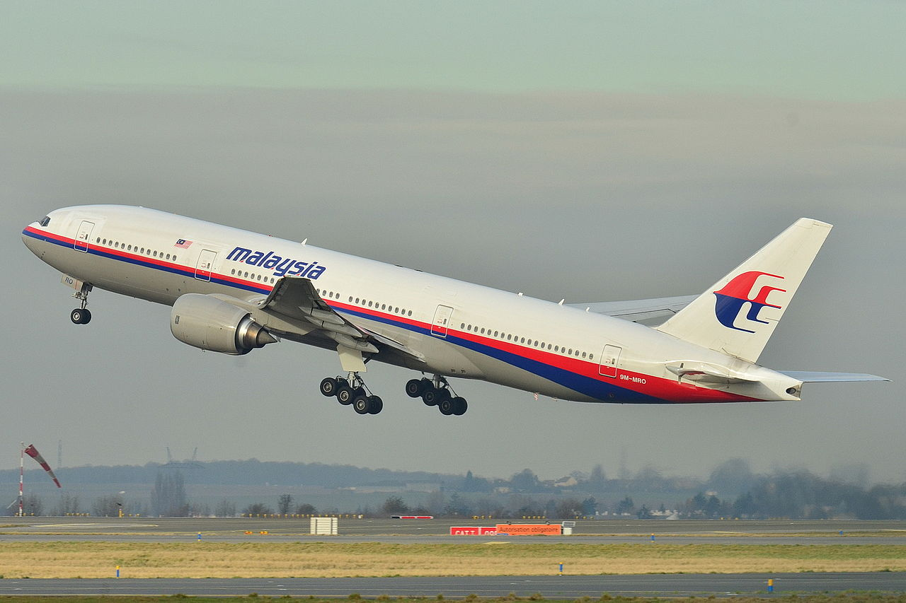 File photo of the missing MH370 taking off at Roissy-Charles de Gaulle Airport, France, 2011.