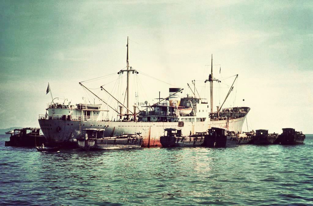 Penang Harbour c. 1963
