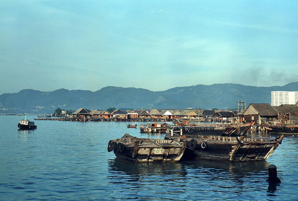 Penang Harbour c. 1970