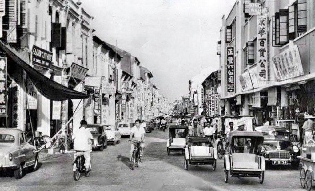 Campbell Street, circa 1966