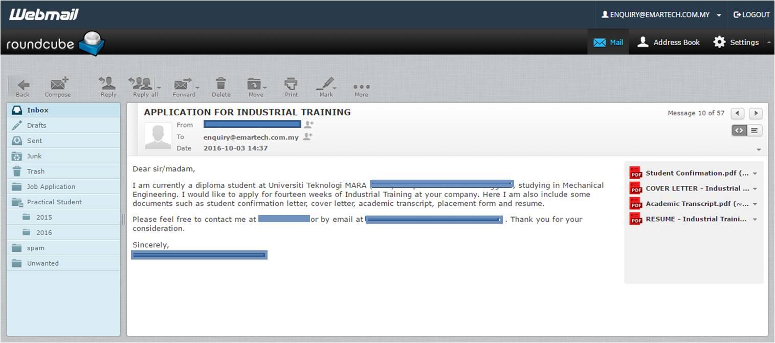 9 Tips Penting Mohon Kerja Melalui Email Supaya Resume ...