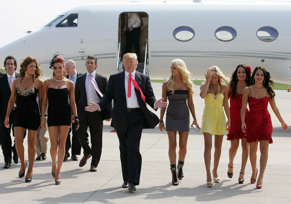 Image result for trump in miss universe dressing room