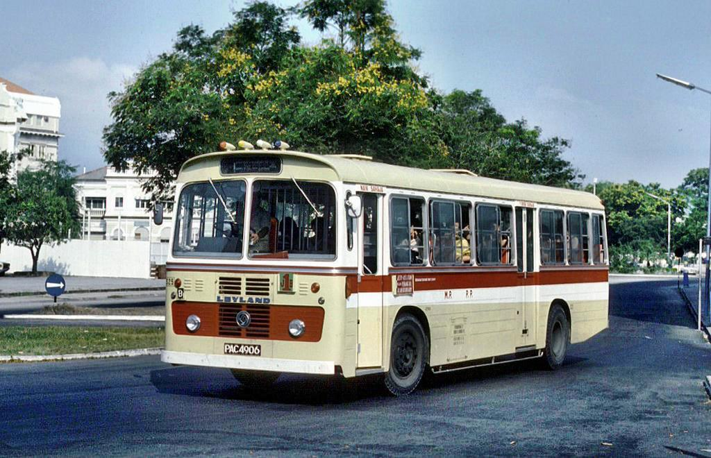 A Leyland Victory J with Bee Hing Body photographed by Ian Lynas in 1979.