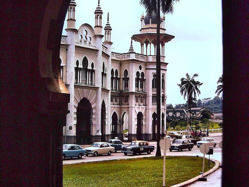Kuala Lumpur Railway Station, circa 1980.