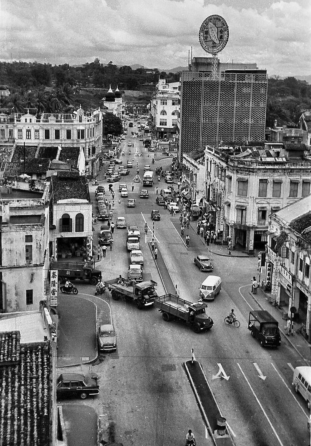 Mountbatten Road, circa 1964.