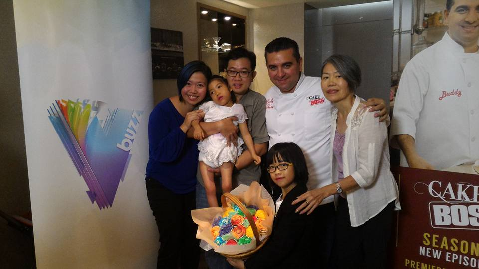 Buddy Valastro Kids 2015