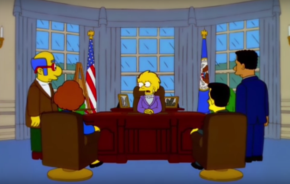 Image from The Simpsons