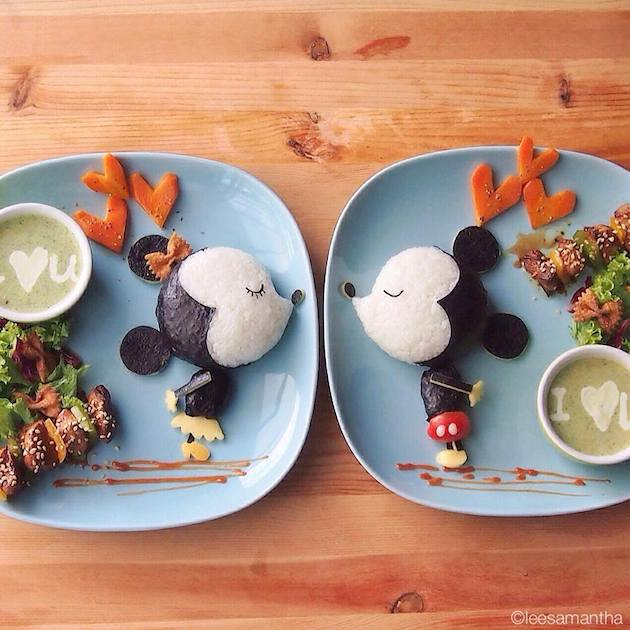 Food art by Samantha Lee, who will be holding a professional workshop during the KidZ vs Food programme.