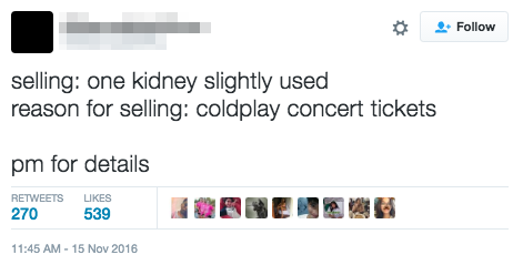 how to buy coldplay tickets