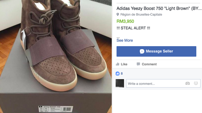 db24b6725477c VIDEO  Malaysians Almost Caused A Riot At The Yeezy Sneaker Raffle ...
