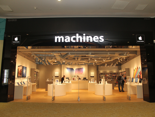 Machines, one of the many local official Apple retailers.