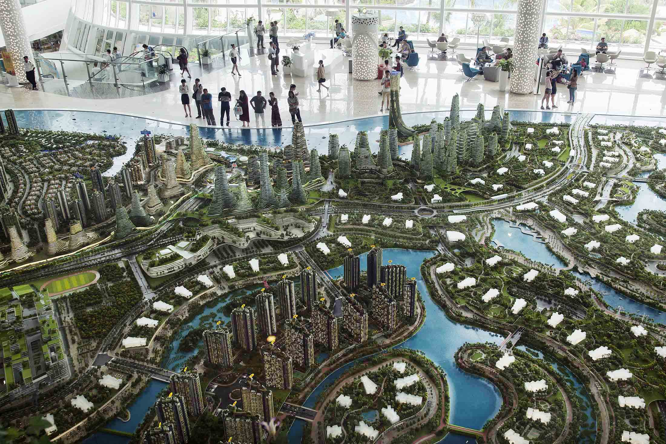 The Forest City project will span over four artificial islands.