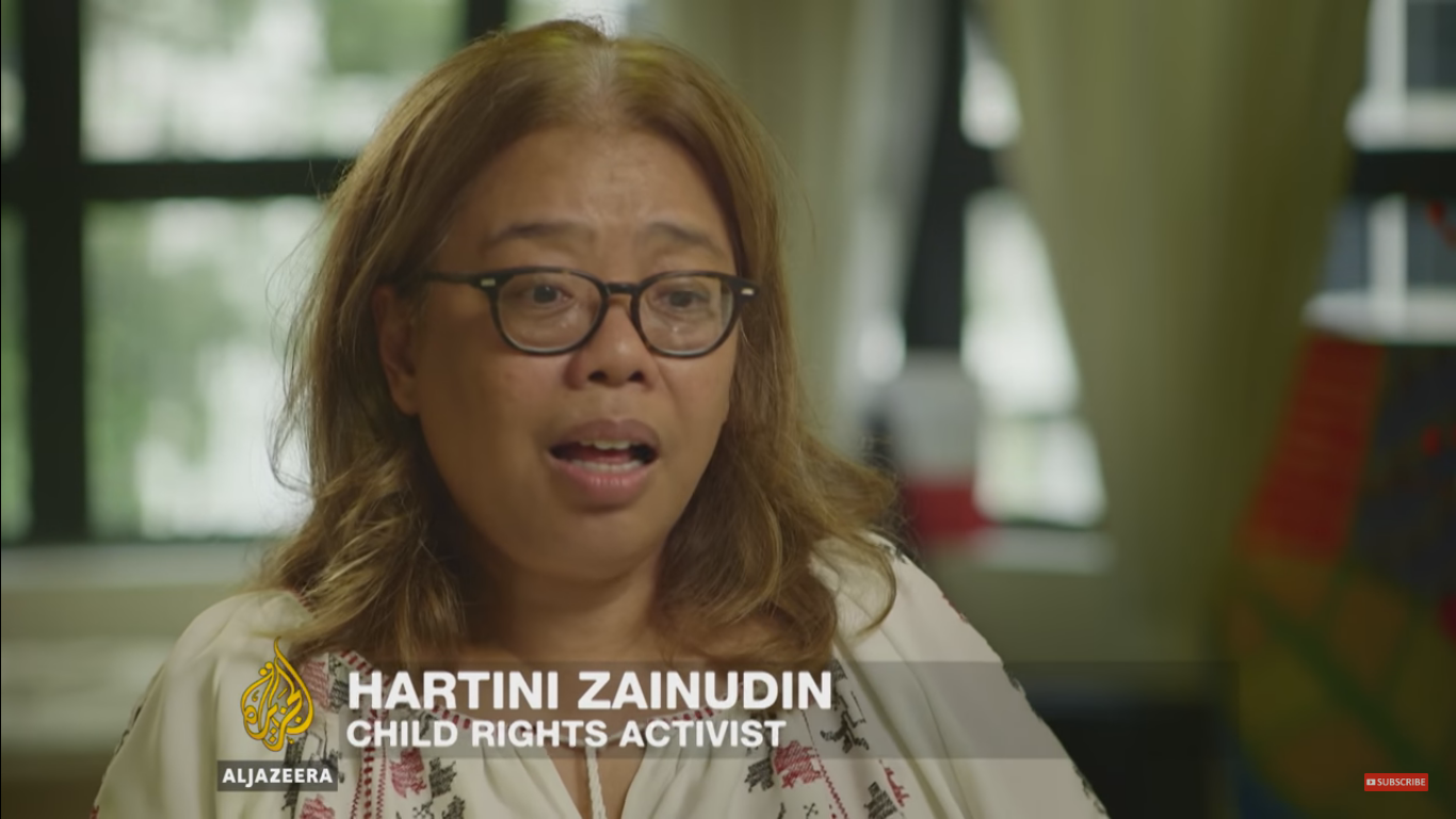 Child rights activist, Hartini Zainudin