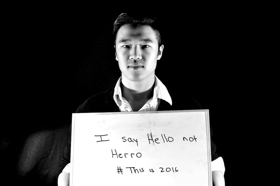 """""""I say Hello not Herro."""""""