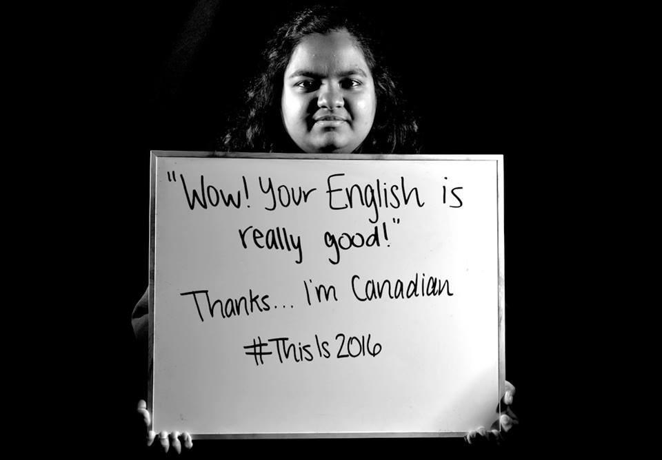 """""""'Wow! Your English is really good!' Thanks... I'm Canadian."""""""