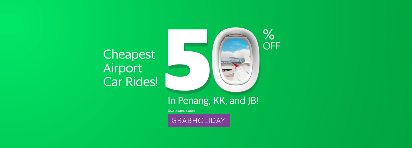 GrabCar Offers RM20 Discount For Rides To The Airport This