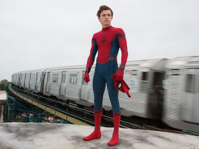 Tom Holland as Peter Parker a.k.a. Spider-Man
