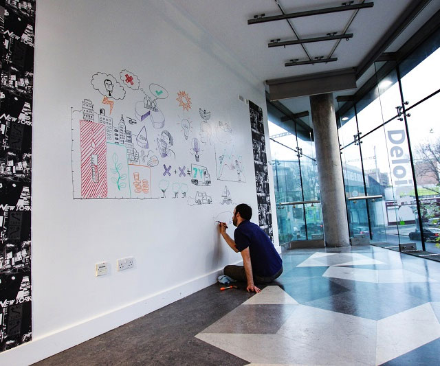 16 Photos For Anyone Who Would Love To Have Writable Walls
