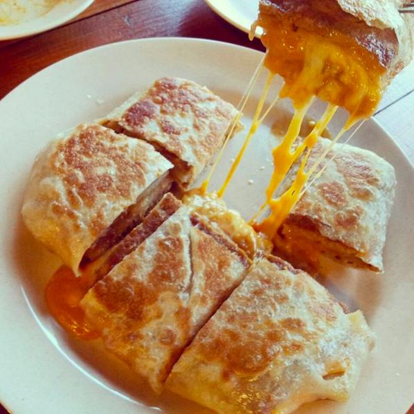 Murtabak cheese.