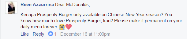Image from McDonald's Malaysia/Facebook