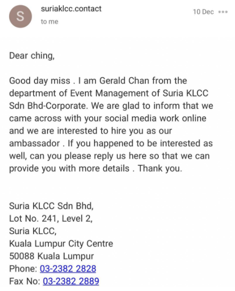 Pervert Claimed Hes A Suria KLCC Employee To Trick Women