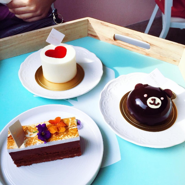 Adorable cakes from Tiny Temptress @ Sri Petaling.