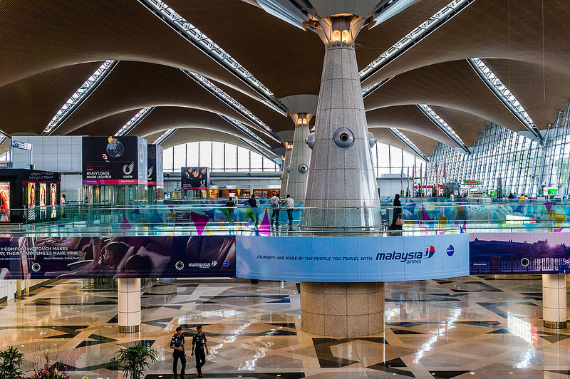 A photo of KLIA taken in 2014.