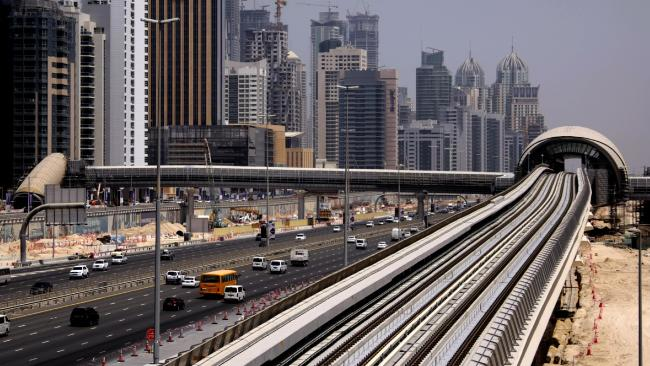 Dubai's Shiekh Zayed Road has seen some crazy accidents over the years.