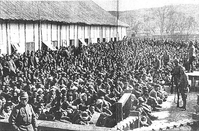 Japanese soldiers massacred all 15,000 Chinese soldiers captured near Nanking.