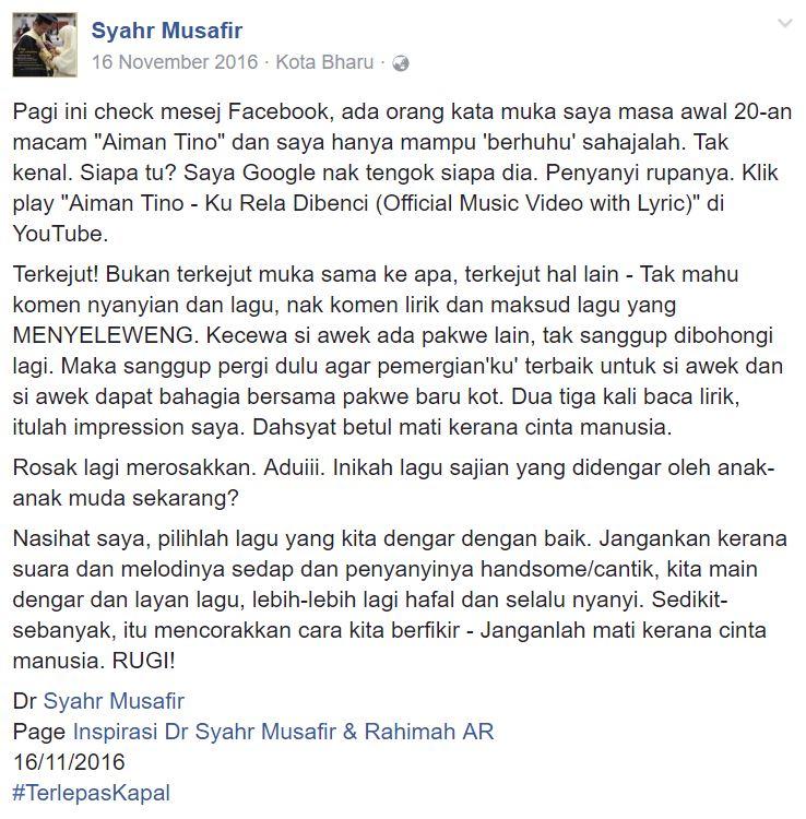 Image from Facebook/ Syahr Musafir