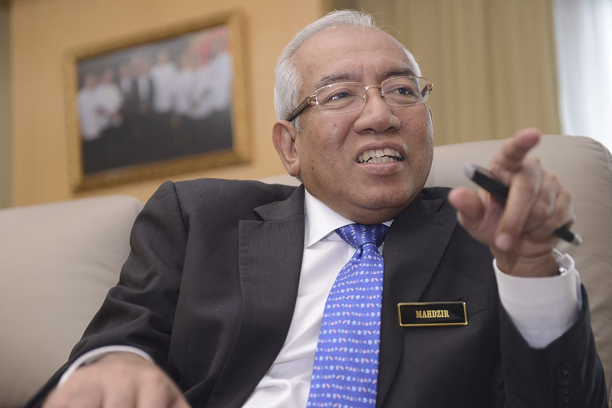 Education Minister Mahdzir Khalid
