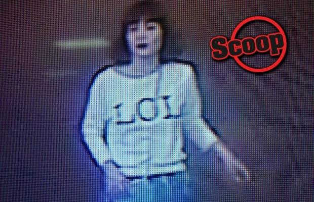 A CCTC footage in KLIA2 that shows the female suspect linked to the murder of Kim Jong-nam.