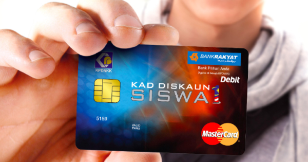 Students Can Now Apply For The New Kads1m Debit Card Worth Rm250