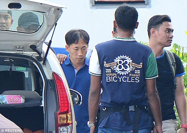 Ri Jong-chol was arrested by Malaysian authorities on Friday, 17 February.