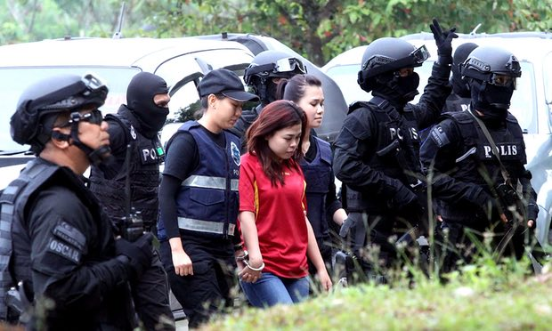 Siti Aisyah, 28, entering the court yesterday.