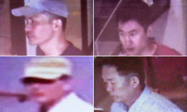 The four North Korean suspects that are believed to be back in Pyongyang.
