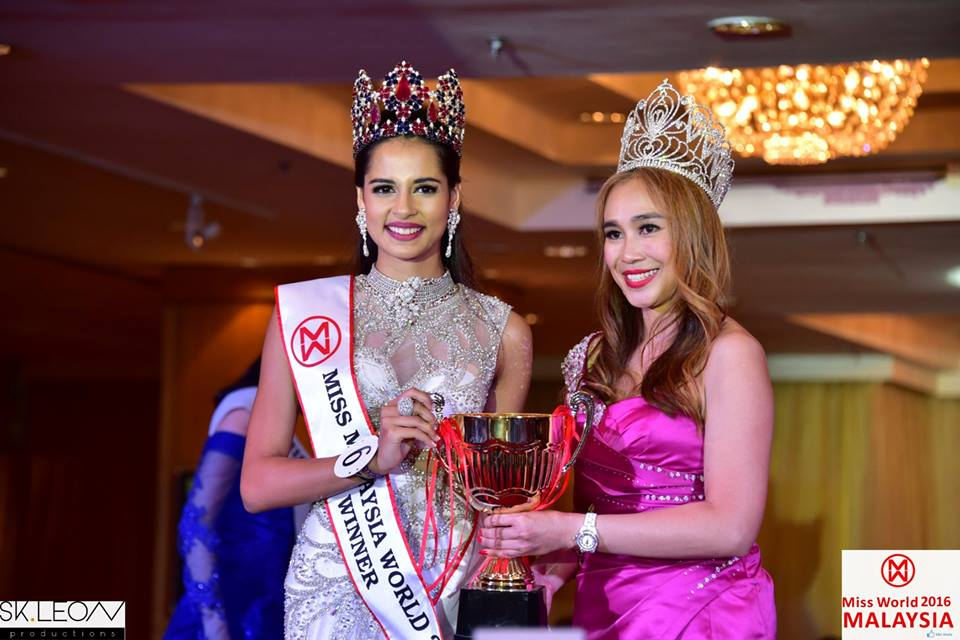 Tatiana Kumar was crowned as Miss Malaysia World 2016/17 on 27 August 2016.