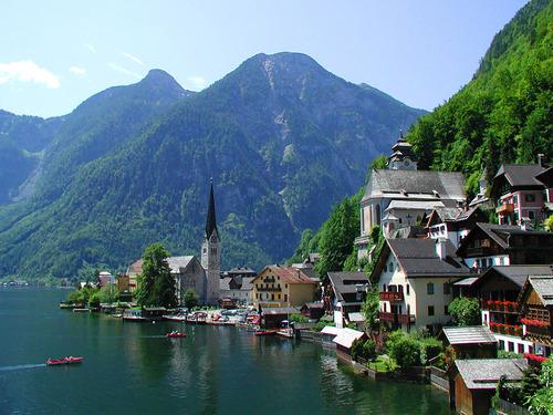 And this is the Original Hallstatt in Austria.