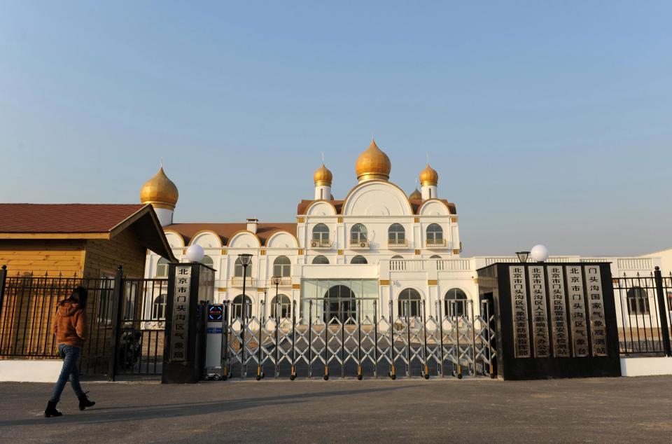 Moscow's Kremlin in China.