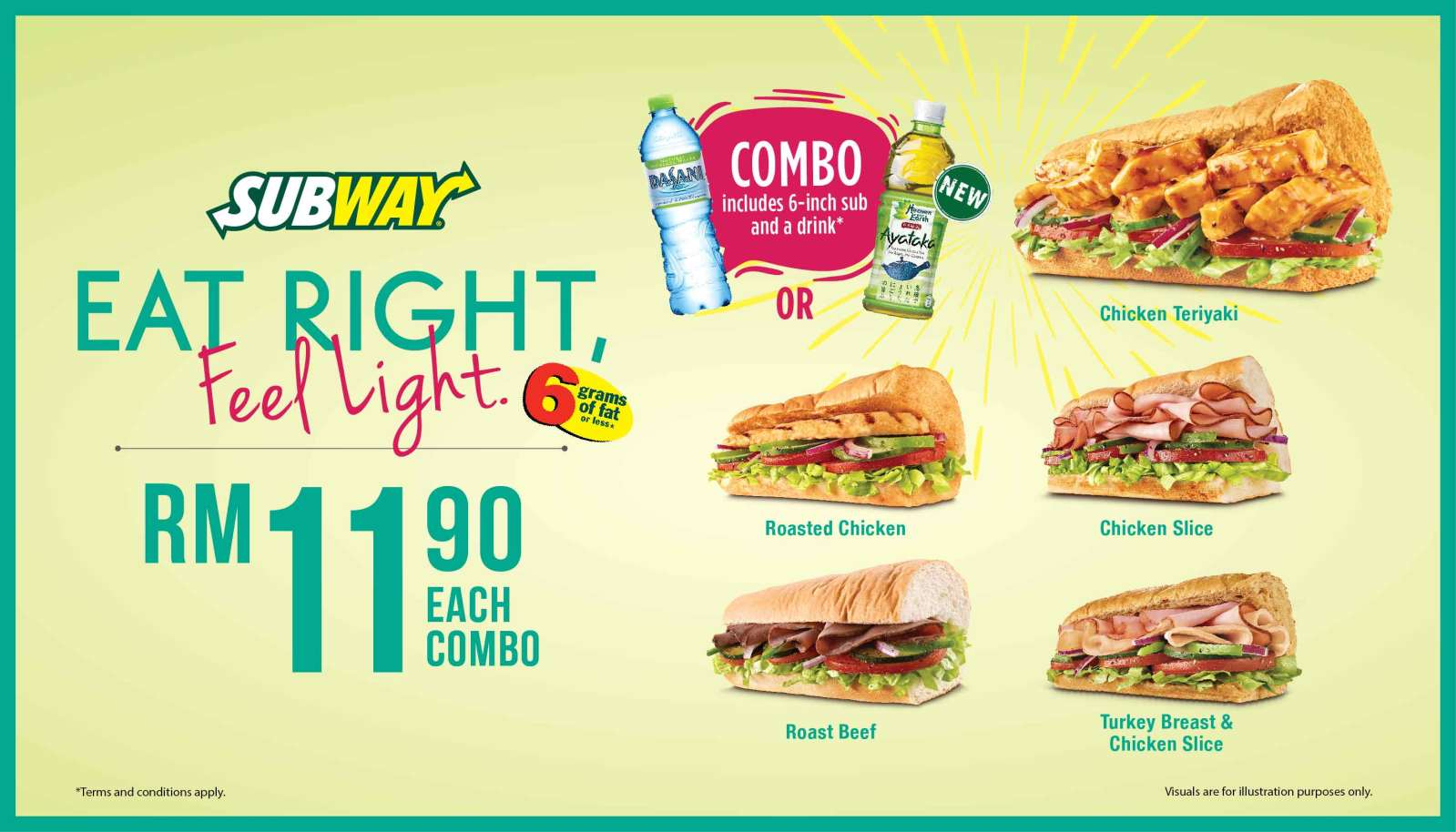Image from SUBWAY®