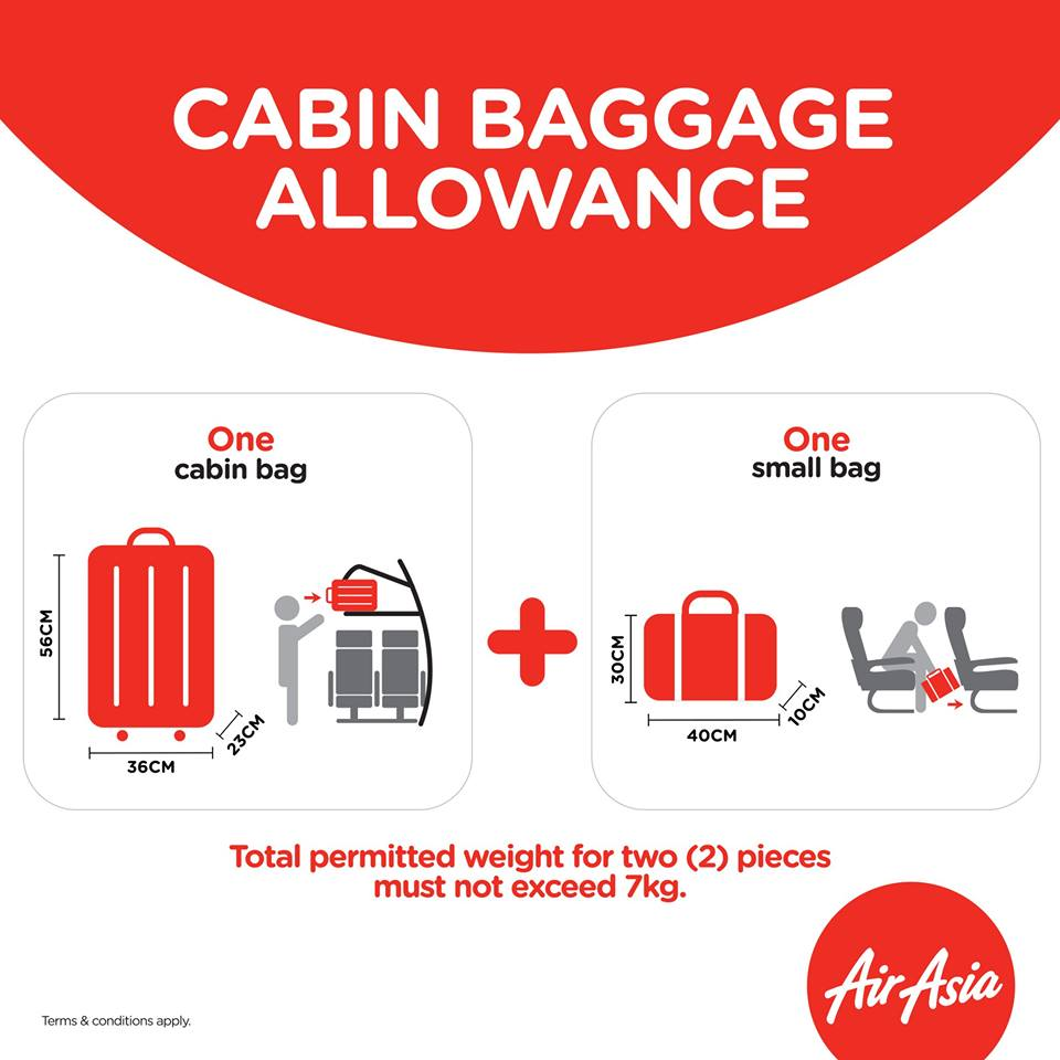 People Are Not Happy With AirAsia For Enforcing A 7KG Weight Limit ...