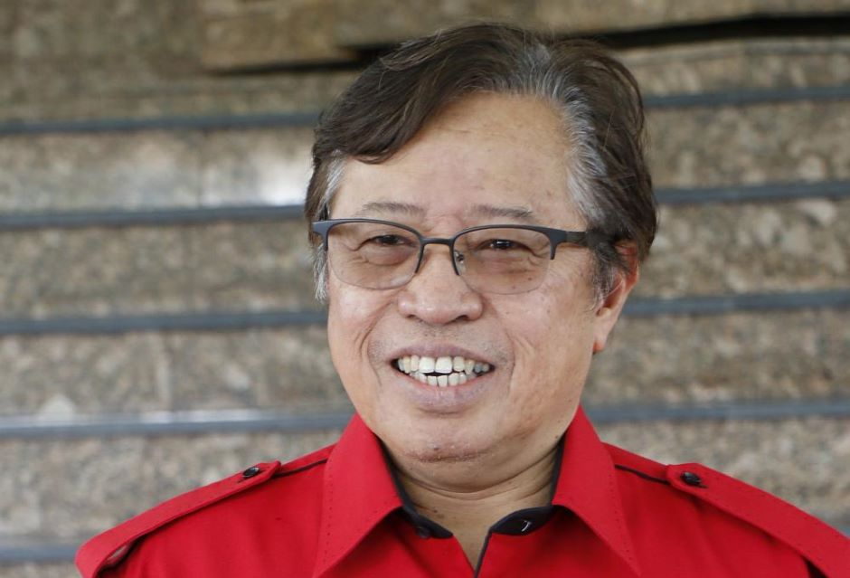 Chief Minister Datuk Amar Abang Johari Tun Openg.