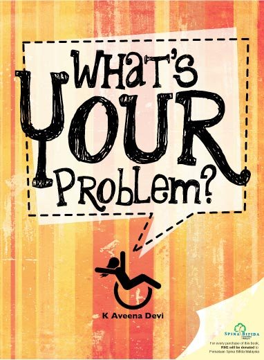 Aveena's book, 'What's Your Problem?'.