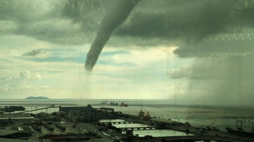 A waterspout that was spotted in the North Channel of Penang back in 2015.