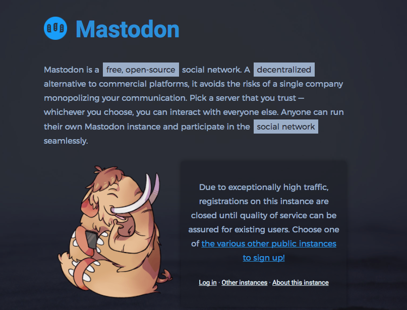 Image from Mastodon