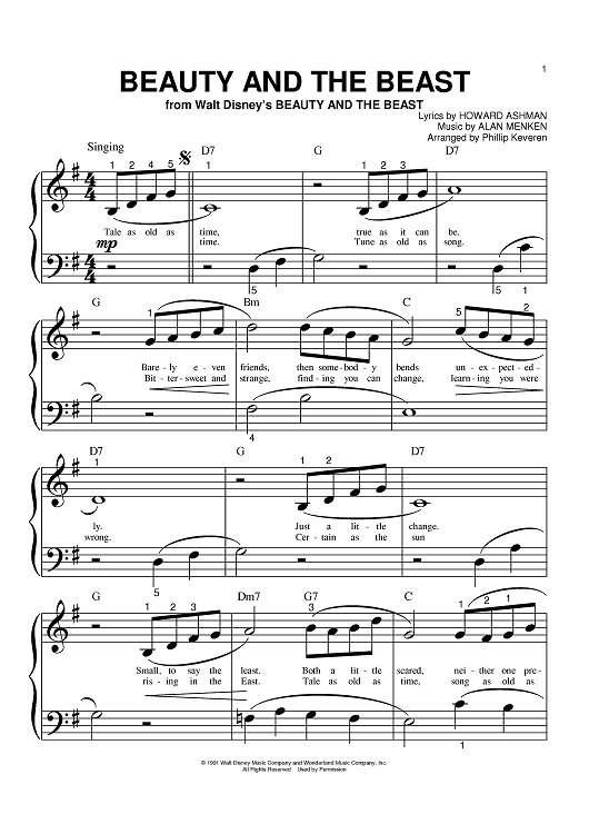 Image from Online Sheet Music