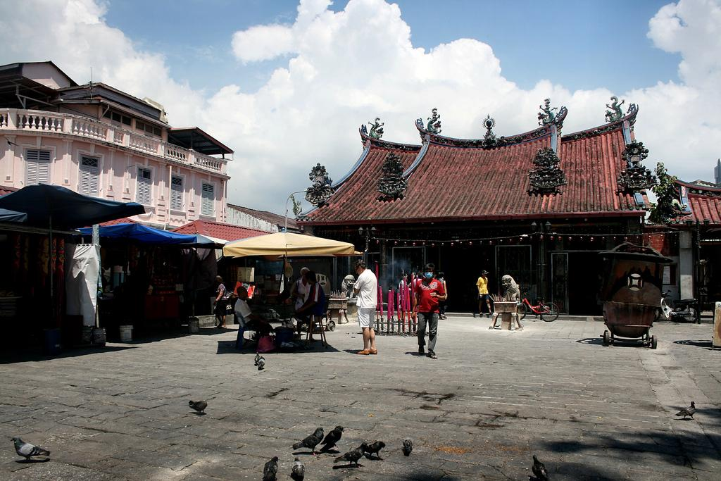 The Kong Hock Keong temple (popularly known as Kuan Ying Teng Temple) is located in Georgetown, Penang.