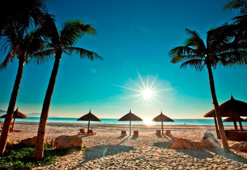 Bac My An Beach